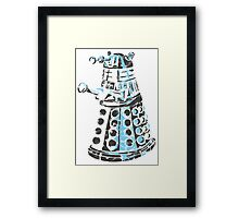 Dalek Graffiti Framed Print