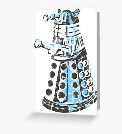 Dalek Graffiti Greeting Card