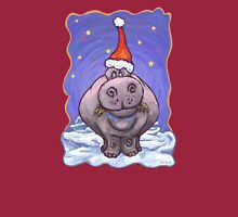 Hippopotamus Christmas Long Sleeve T-Shirt