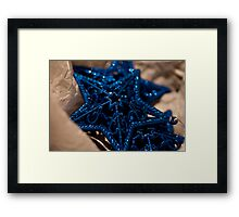 Three Stars for Christmas Framed Print