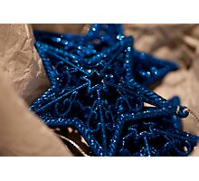 Three Stars for Christmas Photographic Print