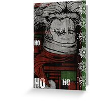 """HO, HO, WHOA"" (VERSION 2) Greeting Card"