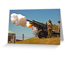 Fire!  - 19 Gun Salute Greeting Card