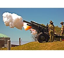 Fire!  - 19 Gun Salute Photographic Print