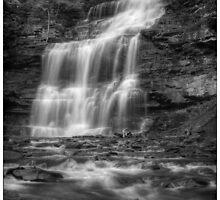 Ganoga Falls November 2011 by Aaron Campbell