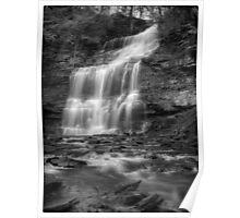 Ganoga Falls November 2011 Poster