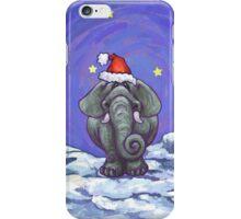 Elephant Christmas iPhone Case/Skin