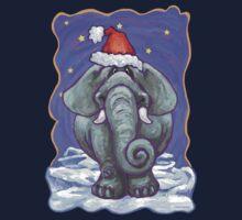 Elephant Christmas One Piece - Long Sleeve