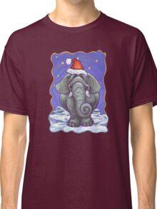 Elephant Christmas Classic T-Shirt