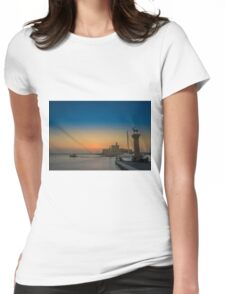 Rodos Island Womens Fitted T-Shirt