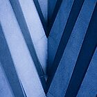 Blue Architecture Detail - iPhone Case by Buckwhite