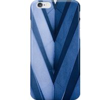 Blue Architecture Detail - iPhone Case iPhone Case/Skin