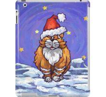 Ginger Cat Christmas iPad Case/Skin
