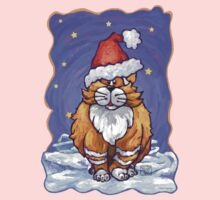 Ginger Cat Christmas One Piece - Long Sleeve