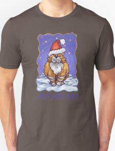 Ginger Cat Christmas Card Unisex T-Shirt