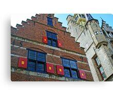 Dutch Architecture Canvas Print