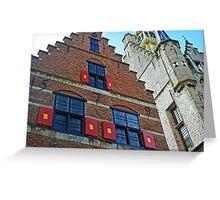 Dutch Architecture Greeting Card