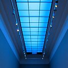 Gallery in blue by Ian Ker
