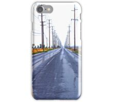 Wet Country Road - iPhone Case iPhone Case/Skin