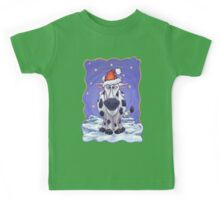 Cow Christmas Kids Tee