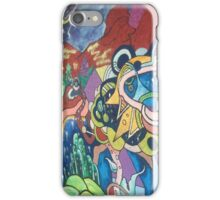 Awesome art mural iPhone Case/Skin