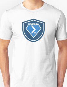 PowerShell Emblem Blue T-Shirt