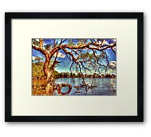 Mutton Swamp - Rupanyup Framed Print