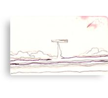 Land Line - 7 Canvas Print