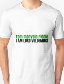 I am Lord Voldemort T-Shirt
