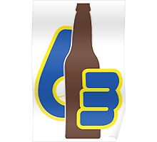 Milwaukee Brewers Drink Up Poster