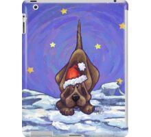 Hound Dog Christmas iPad Case/Skin