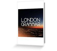 London Grammar 2 Greeting Card