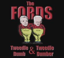 The Fords - Tweedle Dumb and Tweedle Dumber by marinasinger