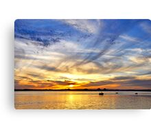 Look to the West - A Bright Horizon Canvas Print