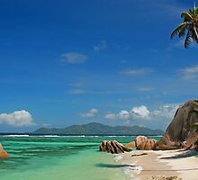 Anse Source D'argent in Seychelles by Haggiswonderdog