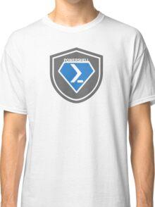 PowerShell Emblem Gray & Blue Classic T-Shirt
