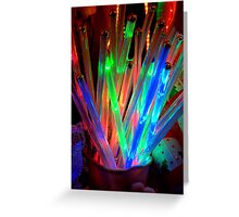 A Bucket of Light Greeting Card