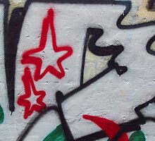 Melbourne - Graffiti with Christmas spirit by Maureen Keogh