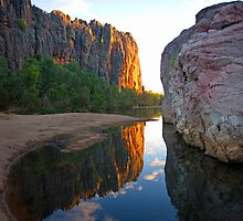 Windjana Gorge - Australian Wilderness by Haggiswonderdog