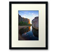 Windjana Gorge - Australian Wilderness Framed Print