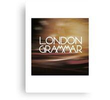 London Grammar 3 Canvas Print