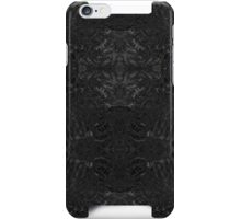 Feather - black iPhone Case/Skin