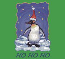 Penguin Christmas Card Baby Tee
