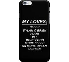 My Loves--Black iPhone Case/Skin