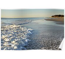 Froth and Bubble - Woorim Beach Poster
