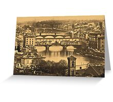 Firenze by night Greeting Card