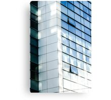 business office glass building  Canvas Print