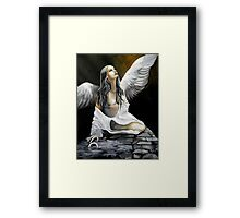 Bound by the life you left behind Framed Print