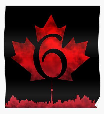 Toronto 6 Poster