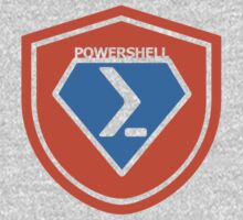 PowerShell Emblem - Orange by myclubtees